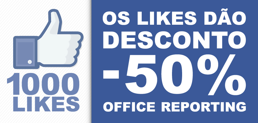 Campanha de 50% Office Reporting